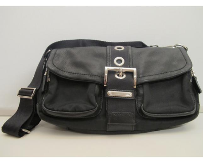 Prada bolso nylon y piel