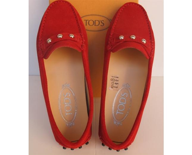 Tod's Mocasines Rojos T 36.5
