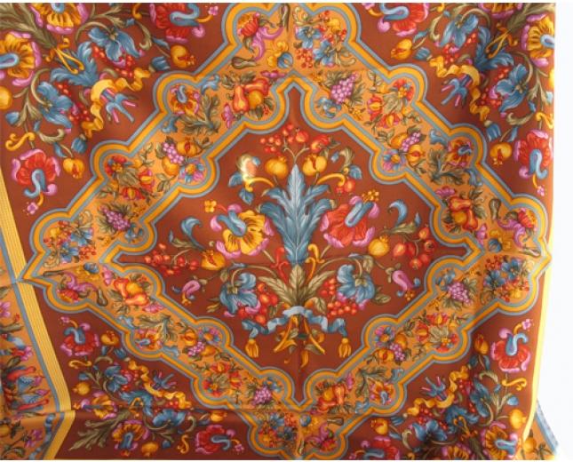 Loewe pañuelo tapices marrón