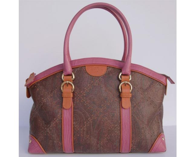 Etro Shopper Paisley rosa