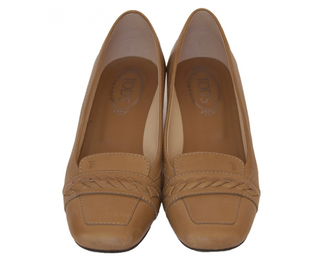 Tod's zapatos camel T. 40