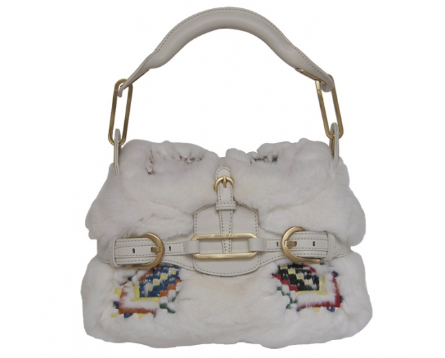 Jimmy Choo bolso blanco