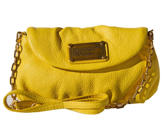 Marc Jacobs Clutch Bandolera amarillo