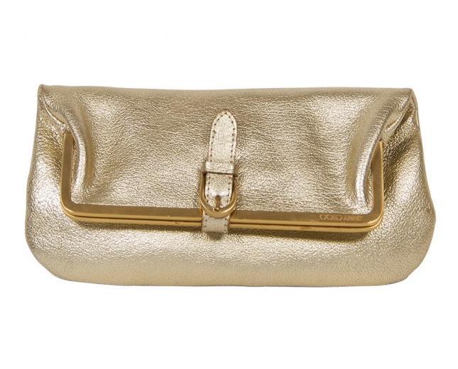 Jimmy Choo Clutch Dorado