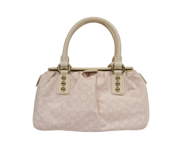 LV Rose Monogram Mini Lin Trapeze