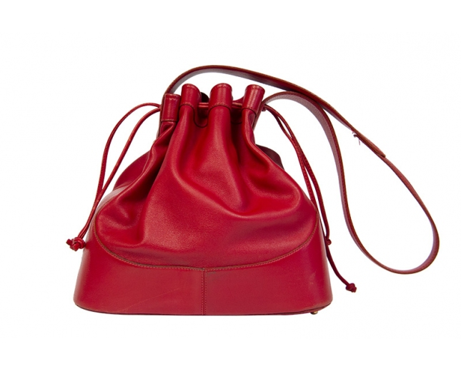 Loewe Bolso Saco Rojo