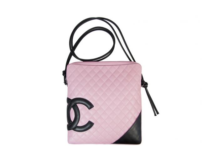 Chanel Cambon Messenger Rosa
