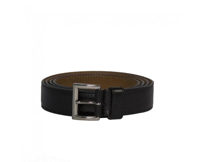 Prada Cinturón Piel Negro T 80