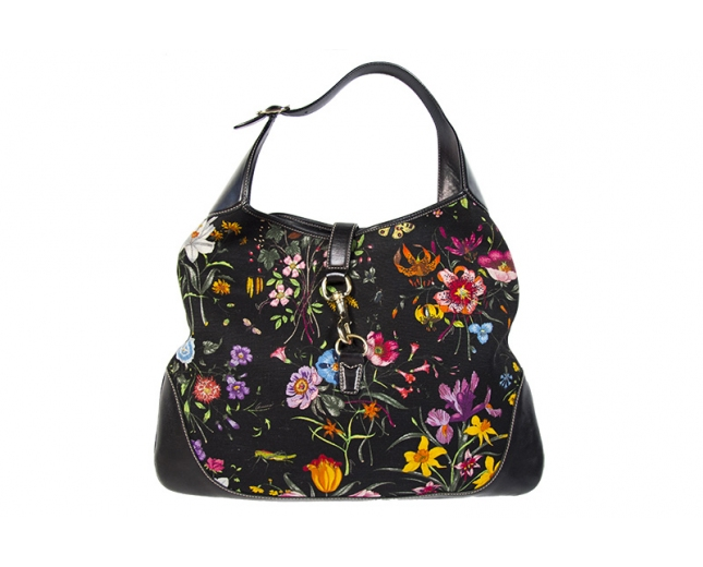 Gucci Bolso Jackie O Floral