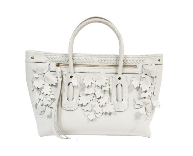 Alexander McQueen Shopping Blanco