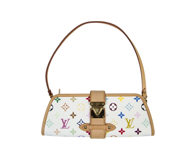 LV Shirley Clutch Multicolor