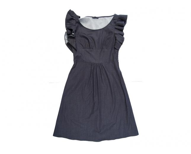 Prada Vestido Denim T 36
