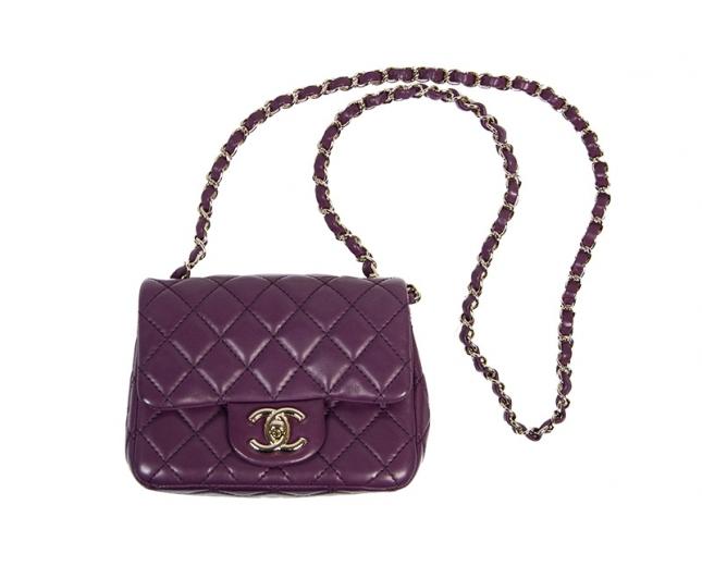 Chanel 2.55 Mini Classic Morado