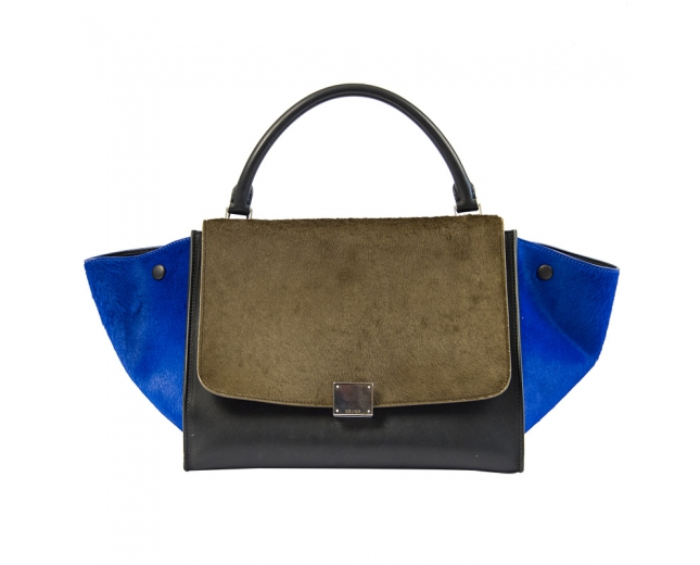 Celine Trapeze Medium Tricolor