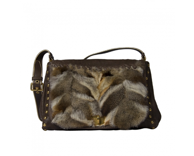 Miu Miu Fox Fur Messenger