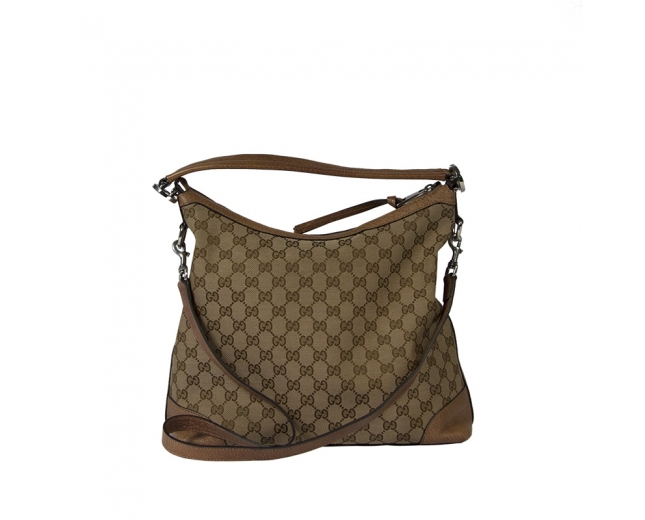 Gucci Bolso Hobo GG Canvas