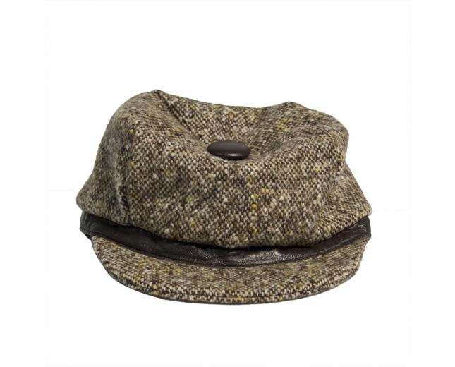 D&G Gorra de lana tweed