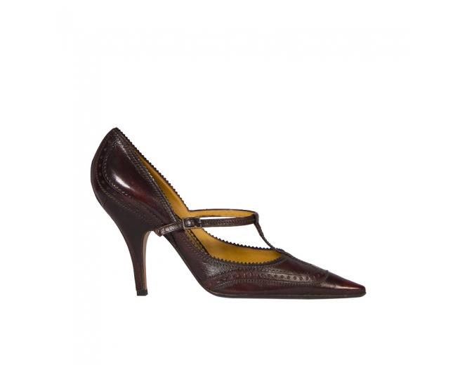 YSL Zapatos Marrones T 39