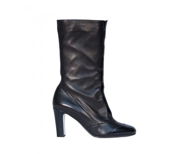 Chanel Botas Negras T 38.5