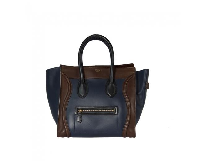 Céline Nano Luggage Bicolor
