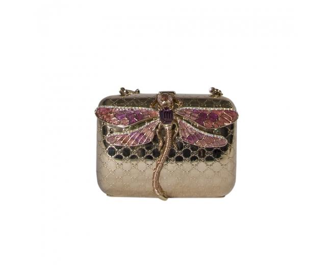 Gucci Clutch Minaudiere Dragonfly