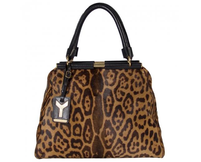 YSL Majorelle Leopardo