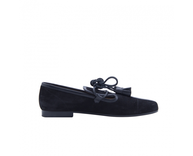 Chanel Zapatos Negros T 39.5