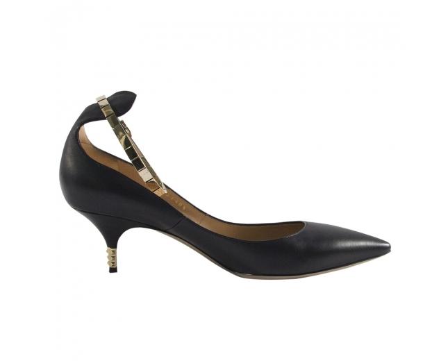 Valentino Zapatos Negros T 39.5