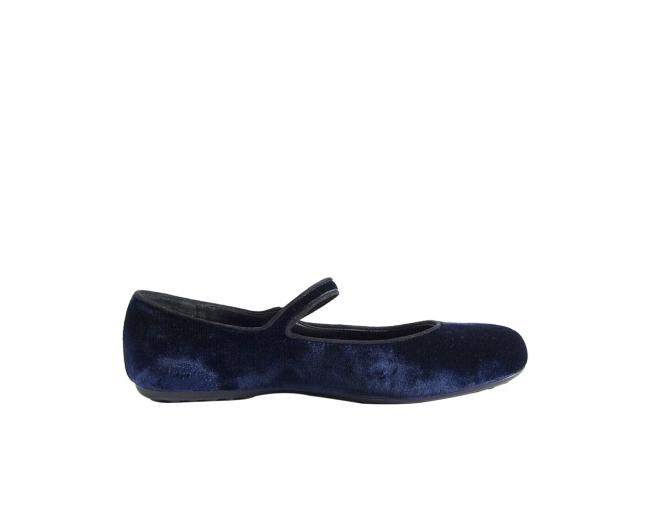 Car & Shoe Bailarinas Azules T 36