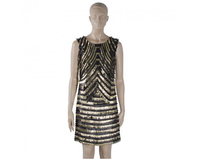 Gucci Vestido Art Decó T 34