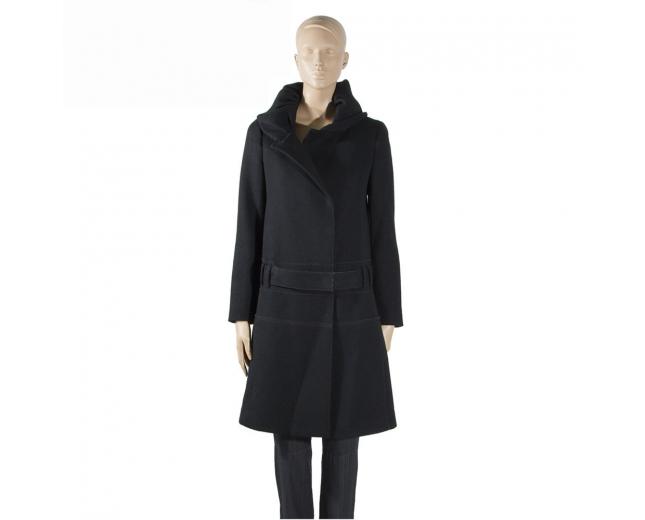 Prada Abrigo Negro T 36