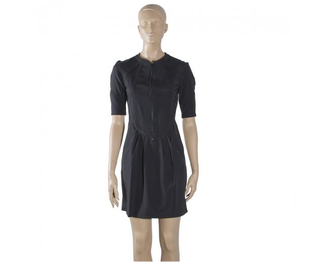 Gucci Vestido Negro T 36