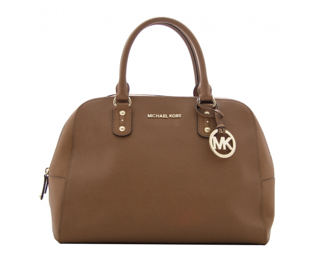 Michael Kors Satchel Marrón