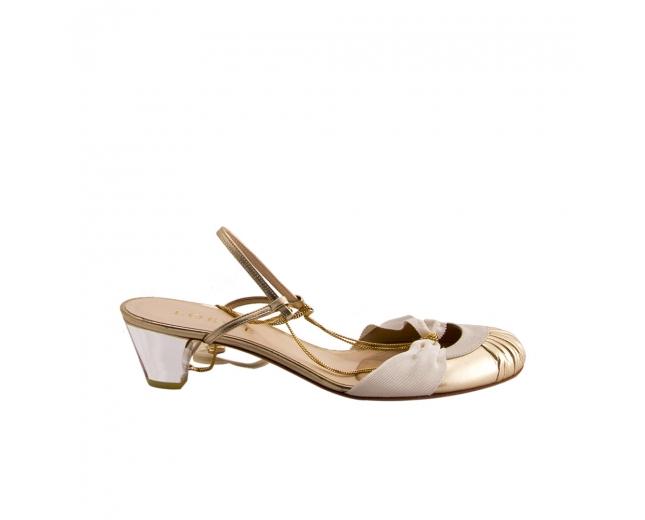 Loewe Zapatos Dorados T 39