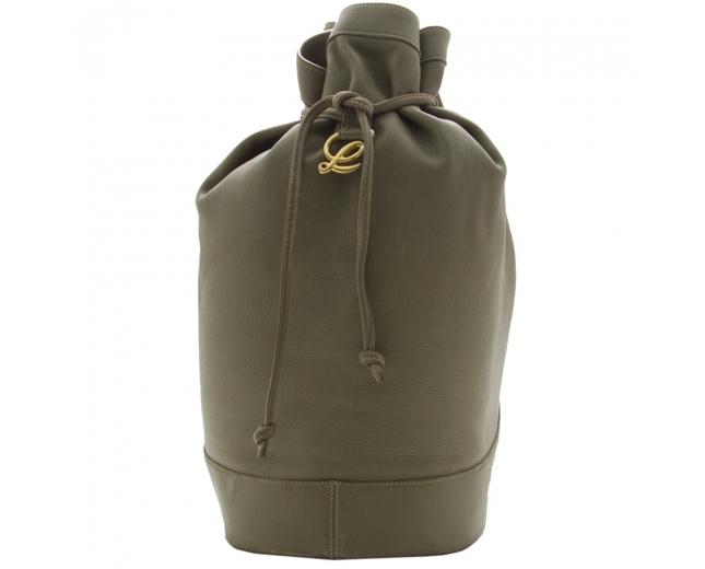 Loewe saco mochila verde