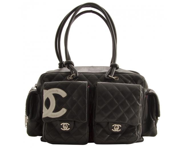 Chanel Cambon Reporter Negro