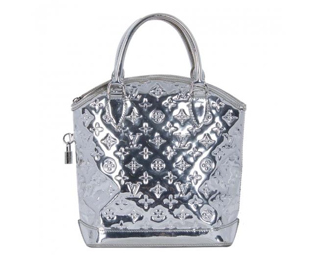 LV Silver Miroir Lockit PM