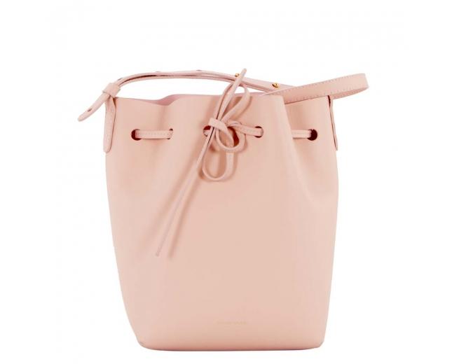Mansur Gavriel Mini Bucket Rosa