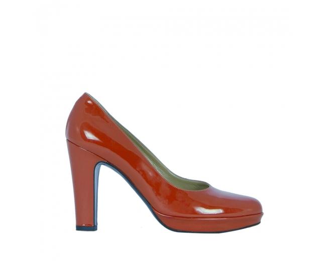 Hermès Zapatos Salón Naranja T 39.5