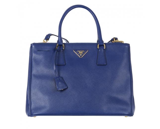 Prada Bolso Saffiano Galleria Azul