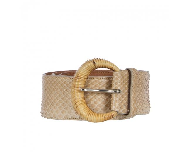 Ralph Lauren Cinturón Pitón T 75