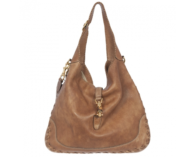 Gucci Hobo Marrón Camel