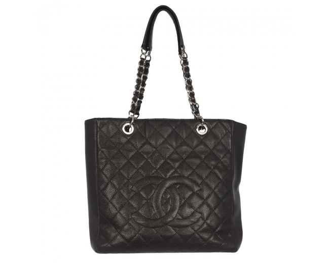 Chanel Bolso Shopping Negro