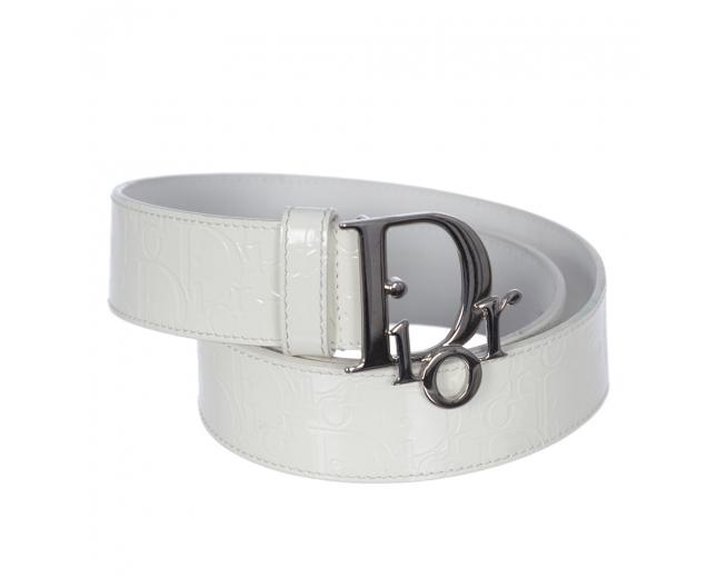 Dior Cinturón Blanco Charo T 85