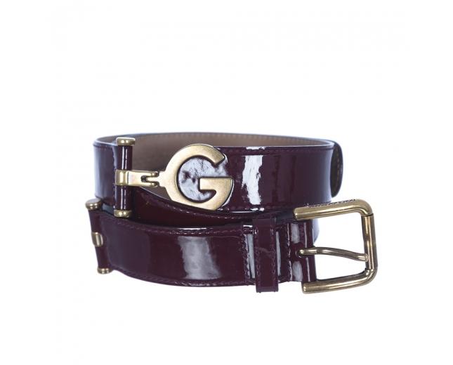 D&G Cinturón Charol Burdeos T 85