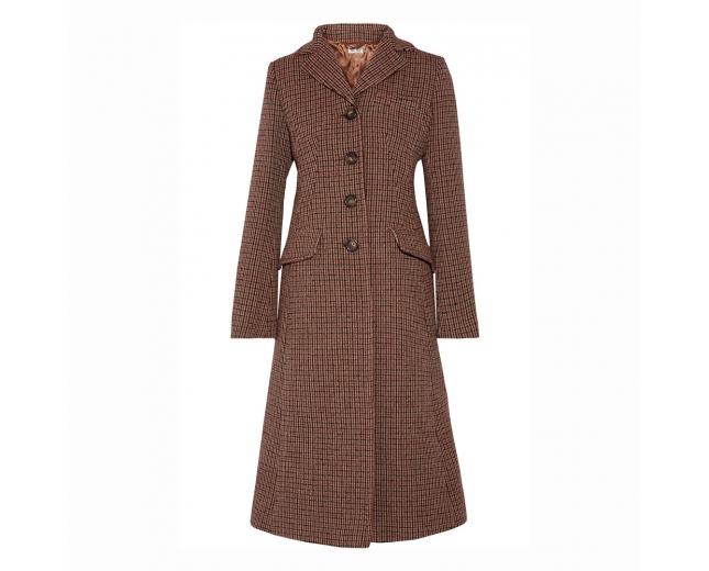 Miu Miu Abrigo Tweed T 38