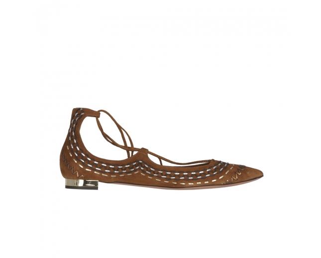 Aquazzura Zapatos Christy Folk Ante 40