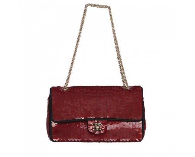 Chanel Timeless Classic Rojo