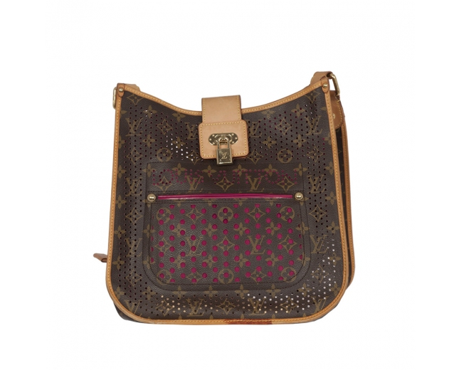Louis Vuitton  Fucsia Perforated Musette