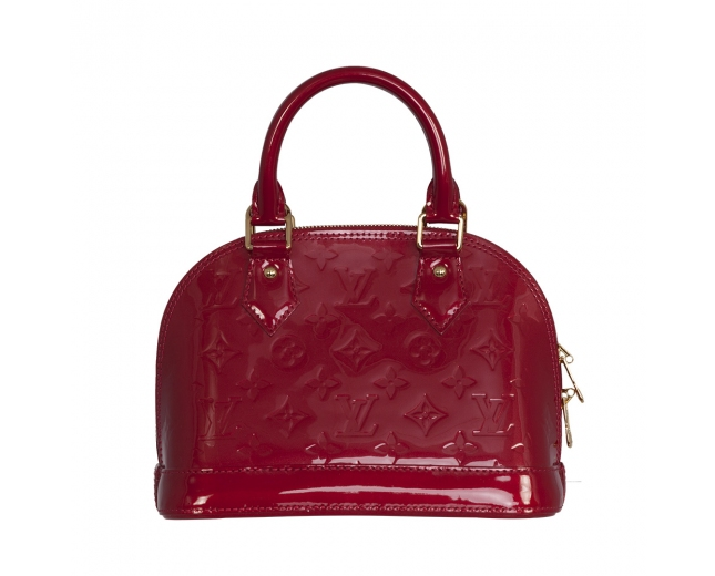 Louis Vuitton Alma BB Vernis Cherry
